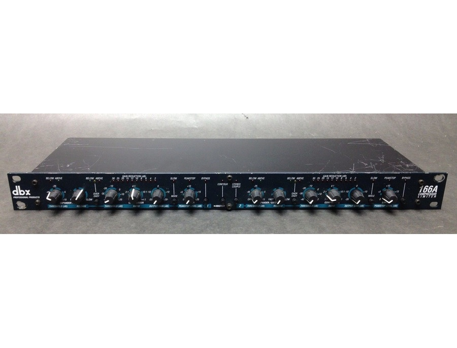 DBX 166A Dynamics Processor