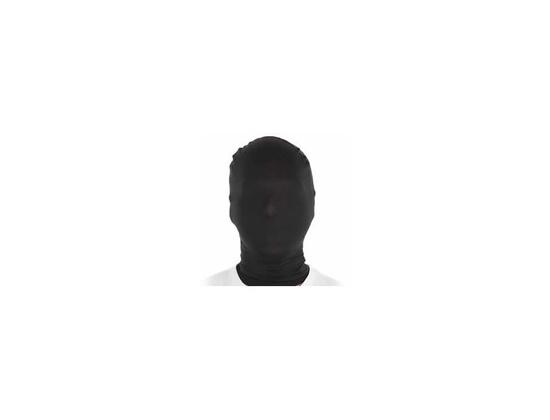 Morphsuit Plain Black Mask