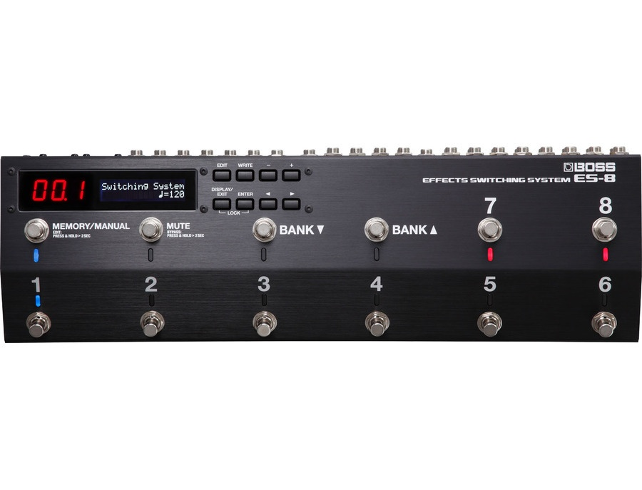 Boss es 8 effects switching system xl