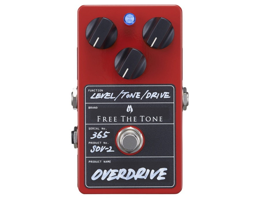 Free the Tone Custom Sov-2 Overdrive