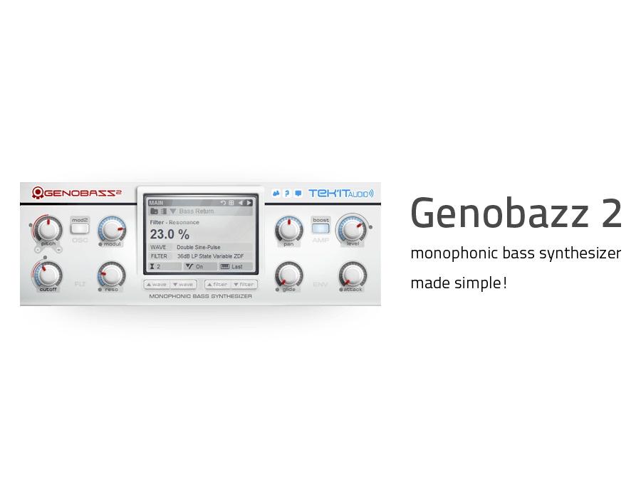 Tek'it Audio Genobazz 2