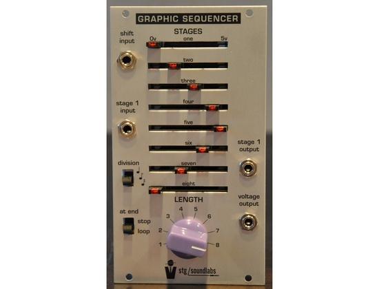 STG Soundlabs Graphic Sequencer (Eurorack)