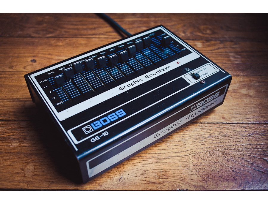 Boss GE-10 Graphic Equalizer
