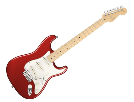 Fender American Standard Electric Guitar Mystic Red