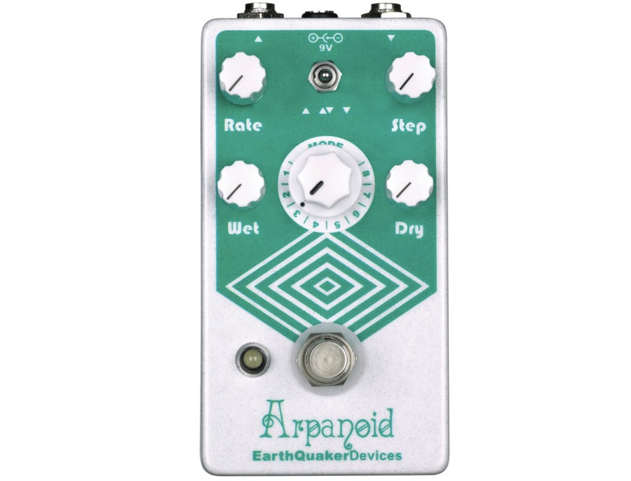 Earthquaker devices arpanoid polyphonic pitch arpeggiator guitar effects pedal xl