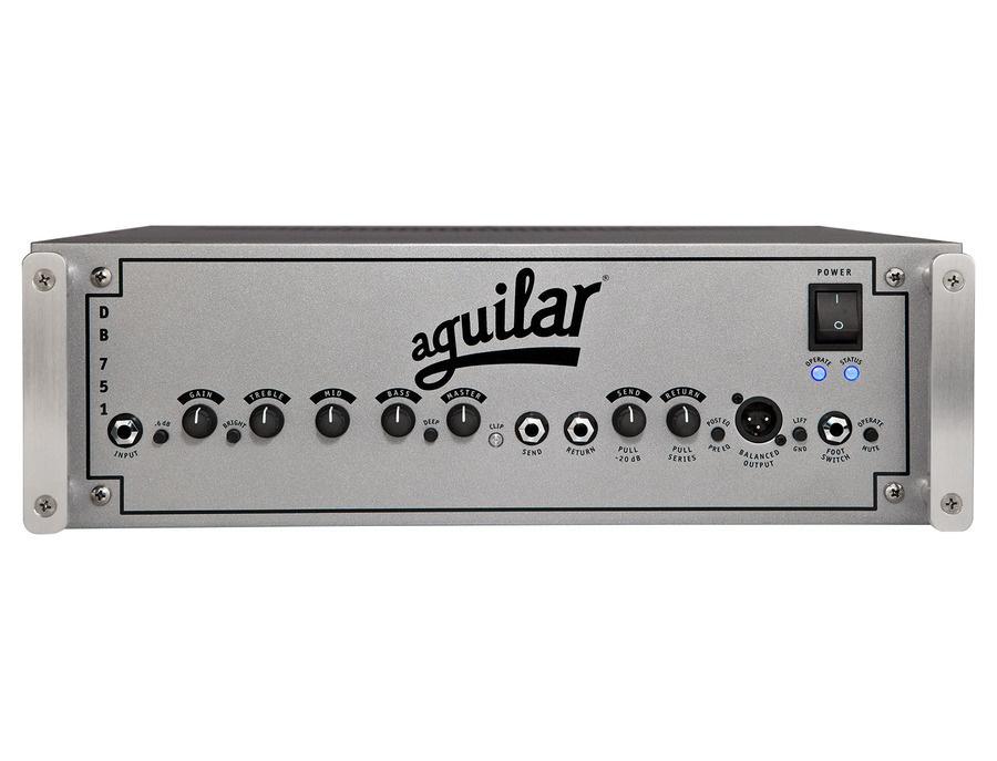 Aguilar db 751 750 watt hybrid bass head xl