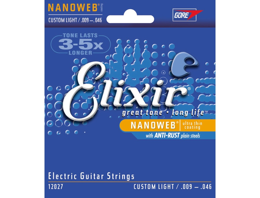 Elixir Nanoweb Custom Light .009 - .046