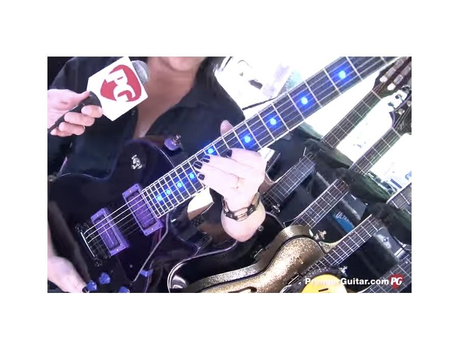 Steve Stevens' Gibson Les Paul Custom w/ LED Inlays