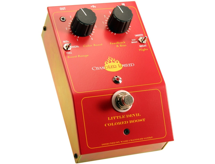 Chandler Limited Little Devil Colored Boost Pedal