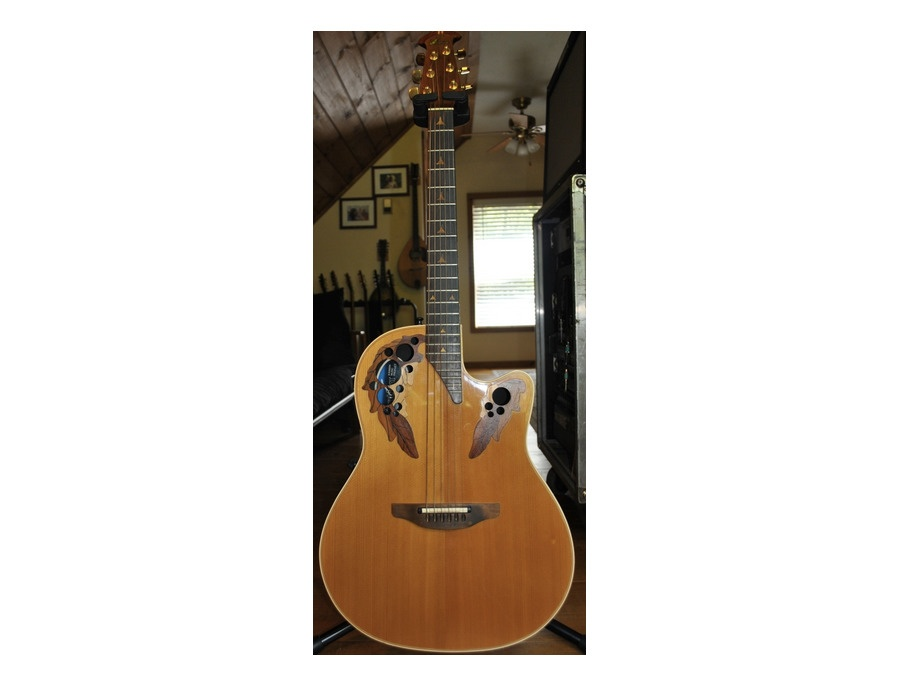 1988 Ovation Elite 6 string - Natural