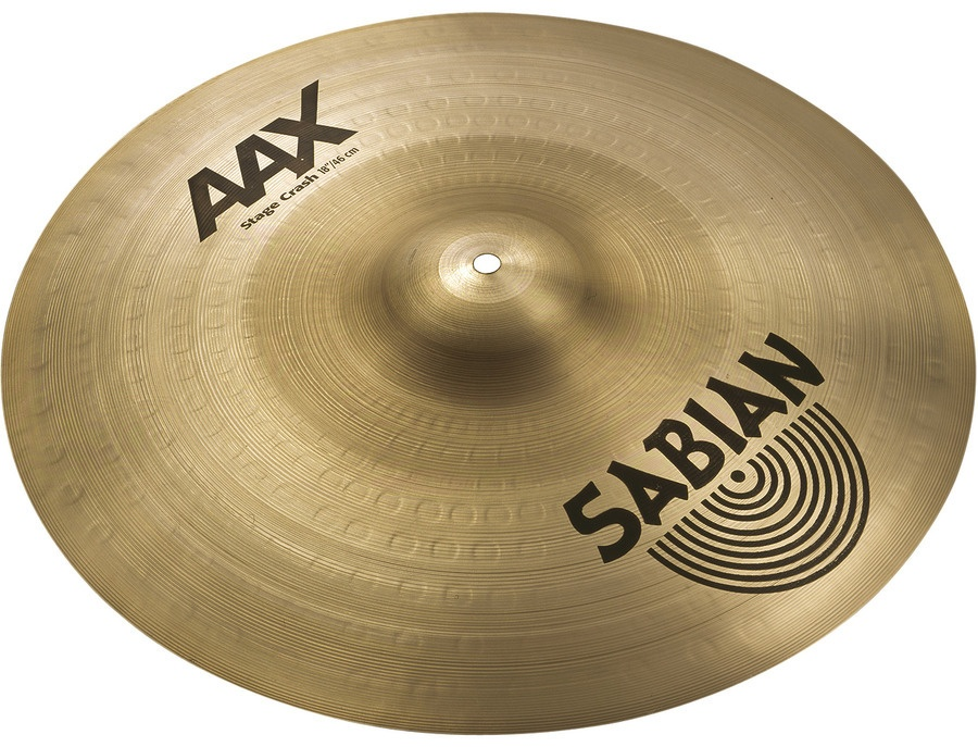 Sabian AAX Stage Crash 18""