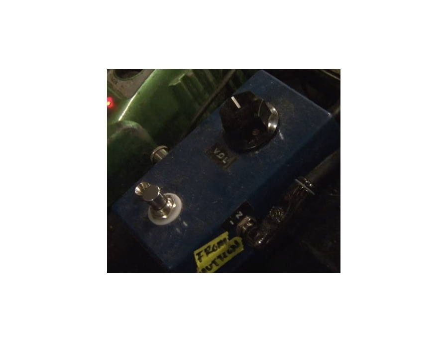 Jake Snider's Homemade Clean Boost Effects Pedal