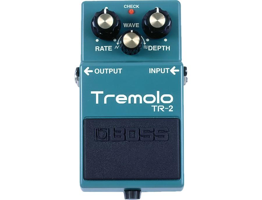 Boss tr 2 tremolo pedal xl