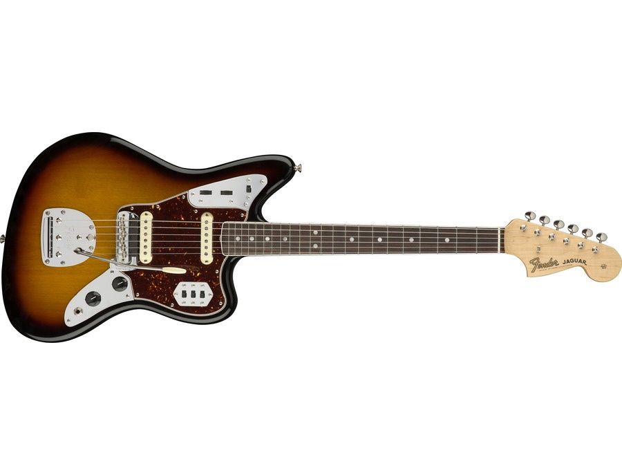 Fender jaguar electric guitar xl