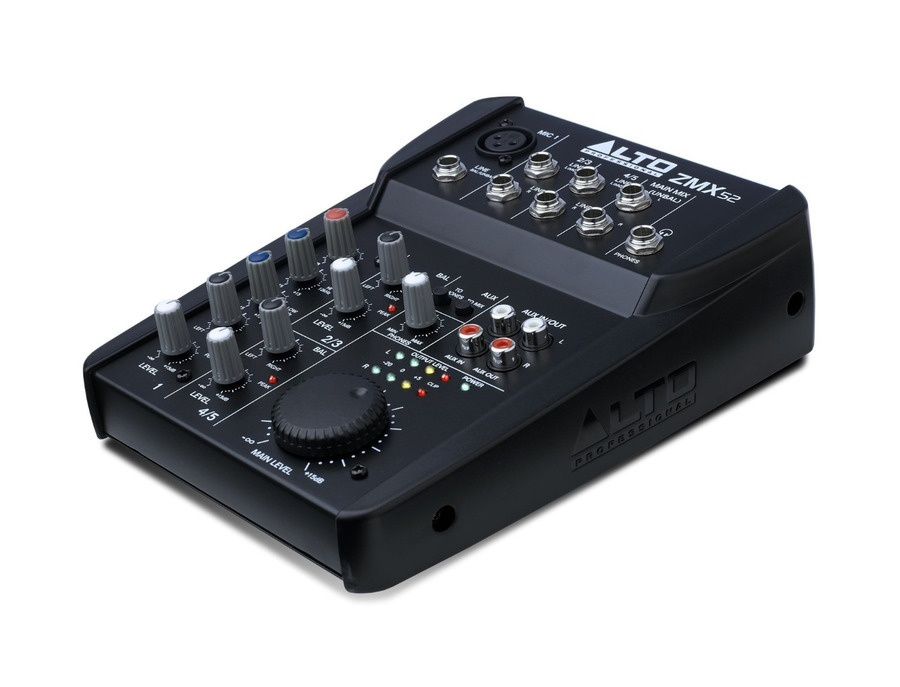 Alto Professional ZMX52 5-Channel Mixer