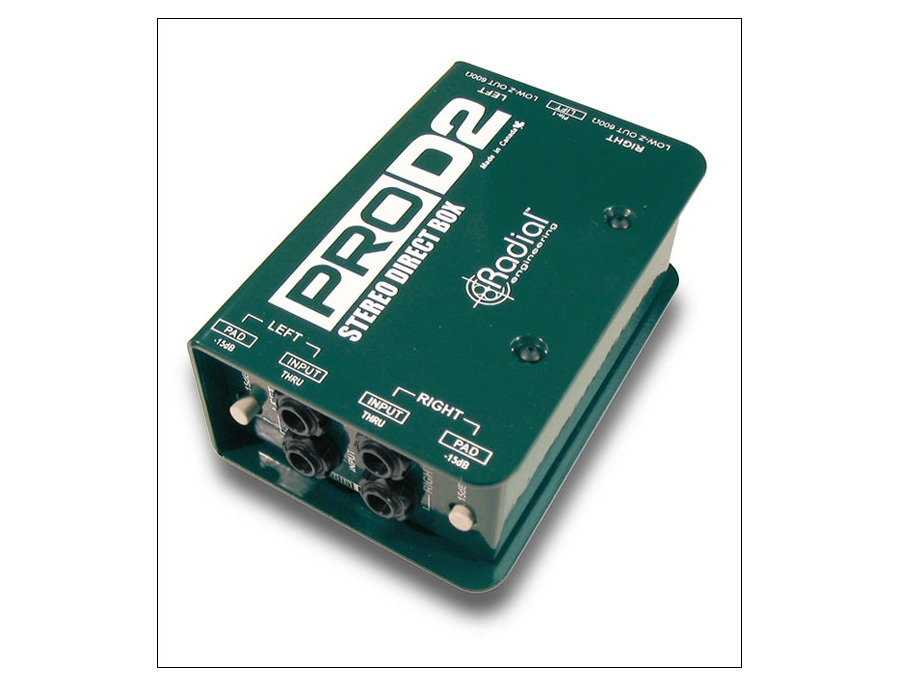Radial engineering prod2 stereo direct box xl