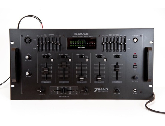 Radio Shack 3 Channel Stereo Mixer
