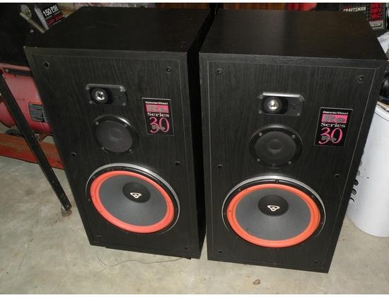 Cerwin Vega RE-30 Loudspeakers