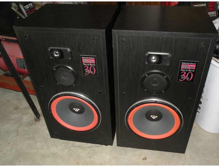 Cerwin vega re 30 loudspeakers xl