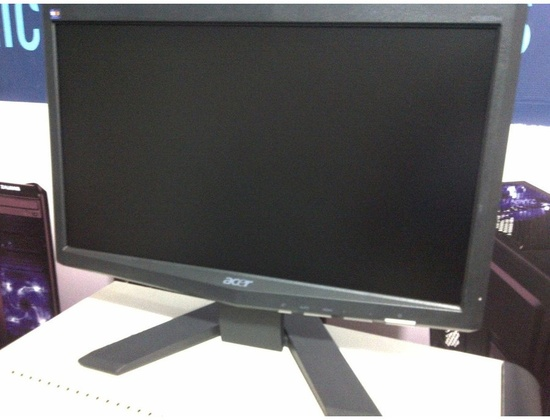 Acer x163w LCD Monitor