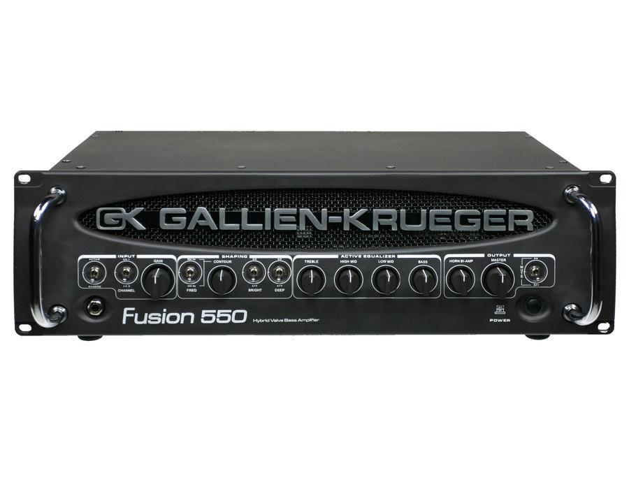 Gallien krueger fusion 550 hybrid bass head xl