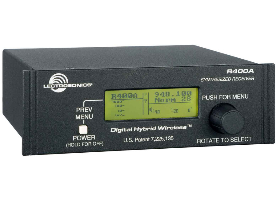 Lectrosonics R400A Digital Hybrid Wireless Diversity Reciever