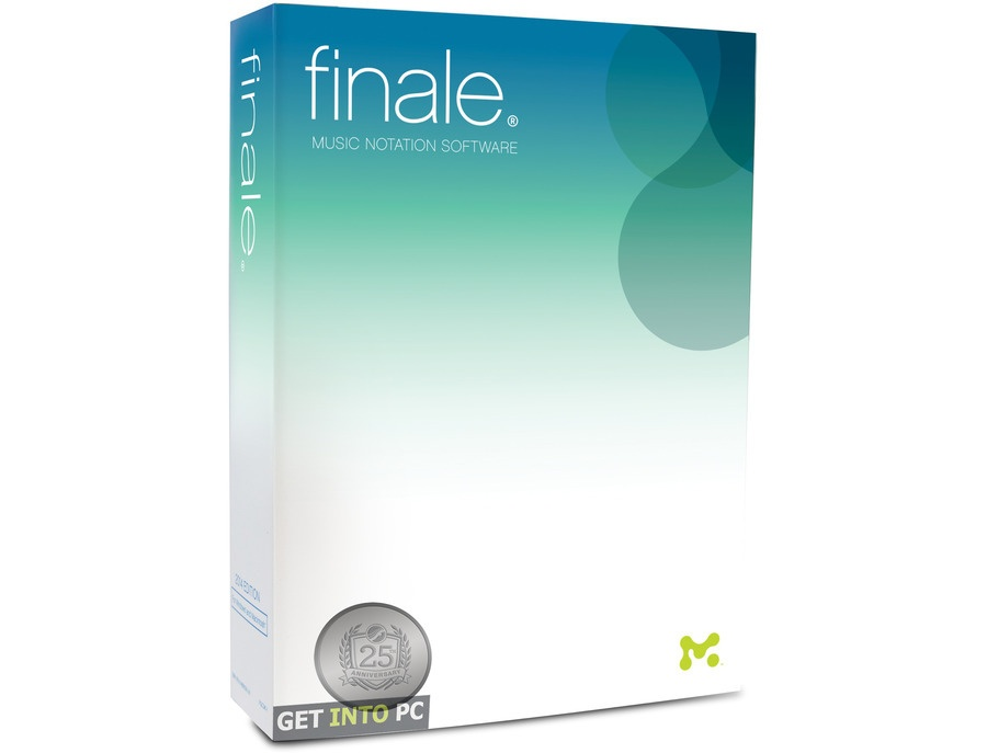 Finale - Music Notation Software