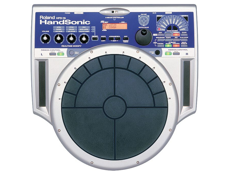 Roland hpd 15 handsonic percussion controller xl