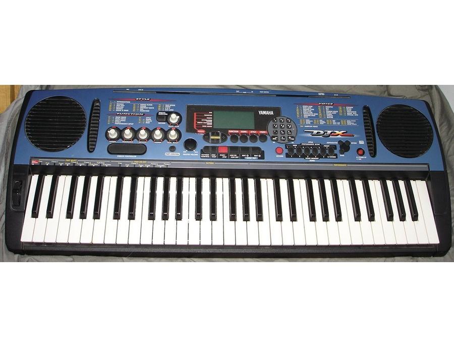 Yamaha djx portable keyboard xl