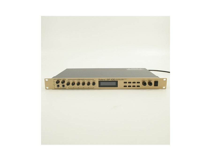 Roland GP-100 Preamp/Guitar Effects Processor