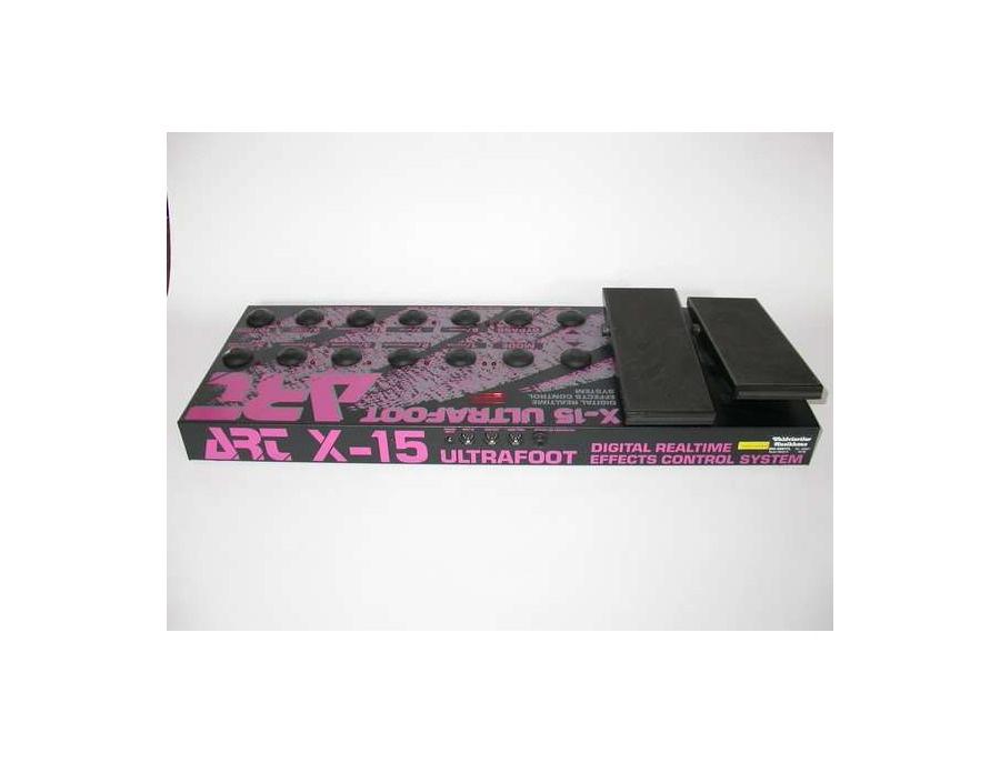 ART X-15 Ultrafoot MIDI Foot Controller