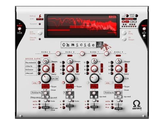 Ohm Force Ohmicide Software Distortion Plugin