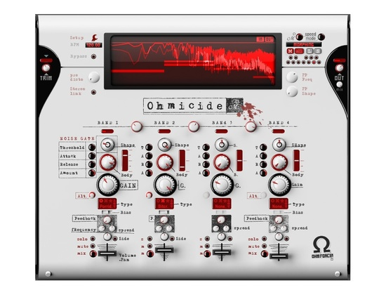 Ohm Force Ohmicide Software Distortion Plugin