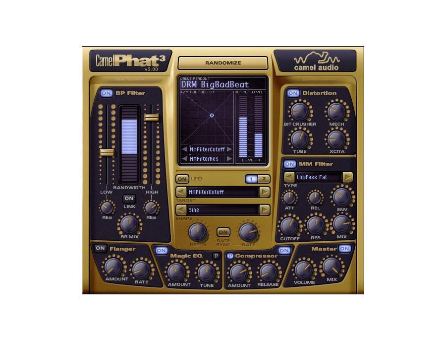 Camel audio camelphat multi effect software plugin xl