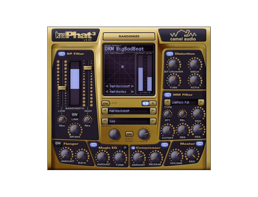 Camel audio camelphat multi effect software plugin xl