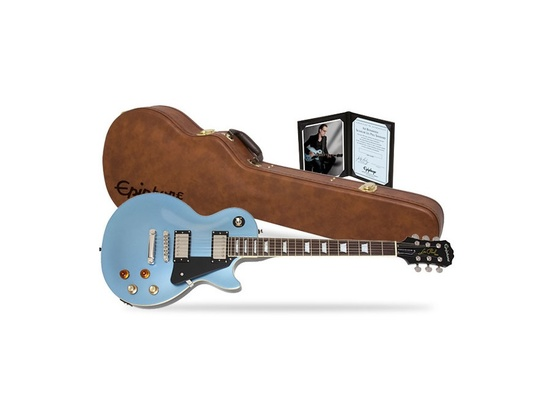 Epiphone Limited Edition Joe Bonamassa Les Paul Standard Outfit in Pelham Blue