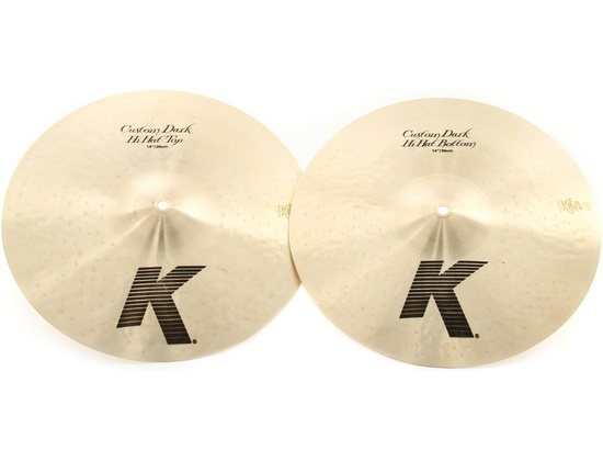 "Zildjian 14"" K Custom Dark Hi Hats"