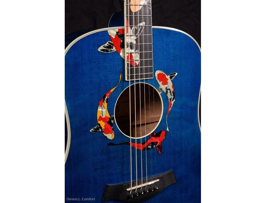Taylor living jewels koi acoustic guitar xl