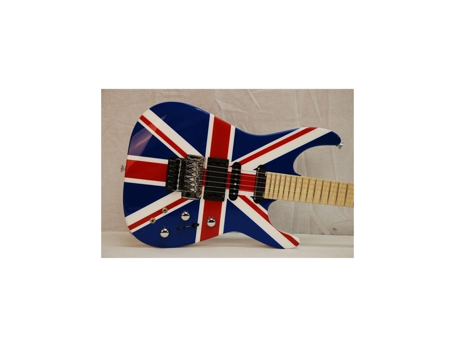 Jackson Phil Collen (Def Leppard) Union Jack 1 of 1