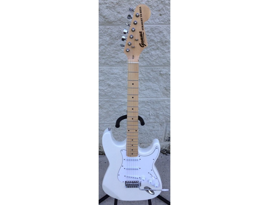 "GAMMA Custom ""OMEGA"" Model S14-02 Signature 'STRAIGHT TO HELL' in Polar White"