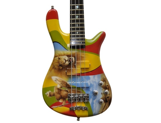 Warwick TM Stevens Signature Zooloo Warrior