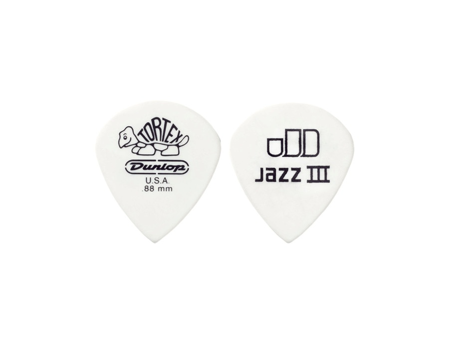 Dunlop Tortex Jazz III White 0.88mm