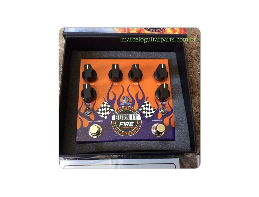 Fire Custom Shop Edu Ardanuy Signature Burn It Pedal