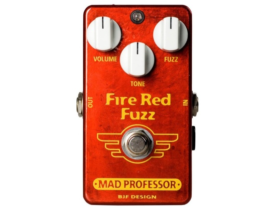 Mad Professor Fire Red Fuzz Handwired