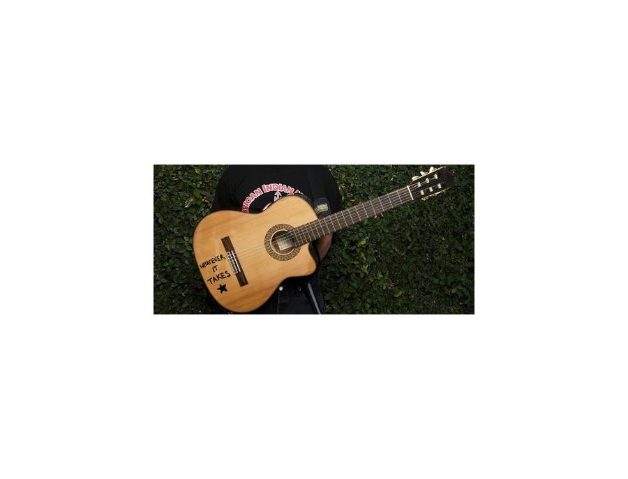 Ibanez tom morello s whatever it takes galvador nylon string guitar xl