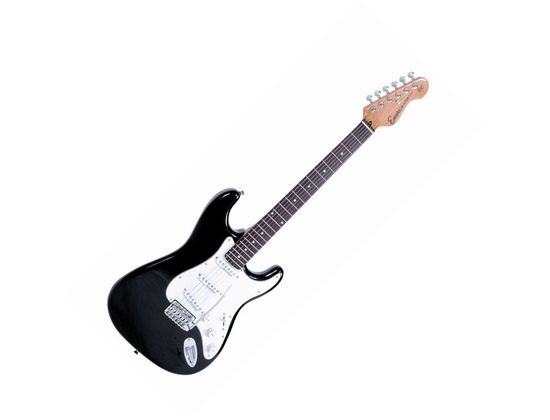 Encore E6 Electric Guitar, Black