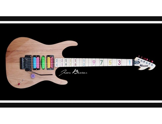 Paradise Guitars USA Jason Becker model