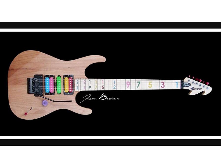 Paradise Guitars USA Jason Becker model