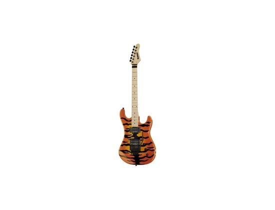Kramer Pacer Vintage Electric Guitar - Tiger Finish