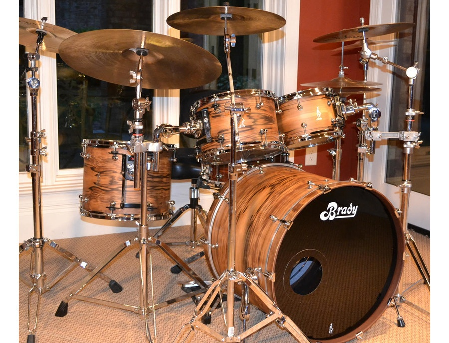 Brady Jarrah Ply Drumkit